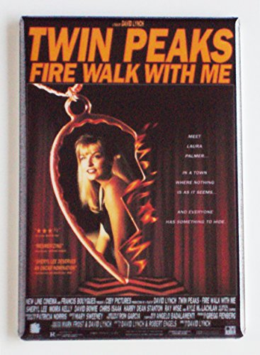 Twin Peaks Fire Walk With Me Movie Poster Fridge Magnet (2.5 x 3.5 inches)