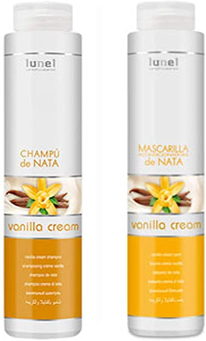 PACK - Champú + Mascarilla Acondicionadora - lunel (Nata): Amazon.es: Belleza