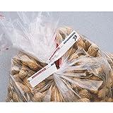 Twist Ties White Paper Bulk Food Twist Ties - 6'' L x 5/8 W 1000 Per Box