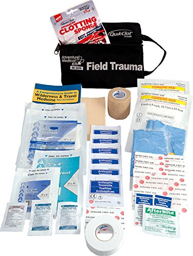 Adventure Medical Kits Tactical Field Trauma Kit with QuikClot Field Kit
