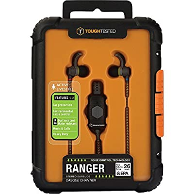 ToughTested Ranger Noise Isolation Earbuds with Mic