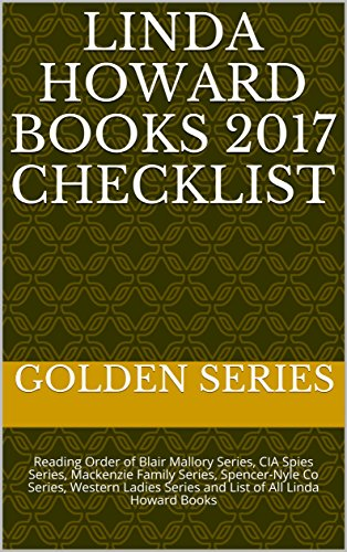 Linda Howard Books 2017 Checklist Reading Order Of Blair Mallory Series CIA Spies
