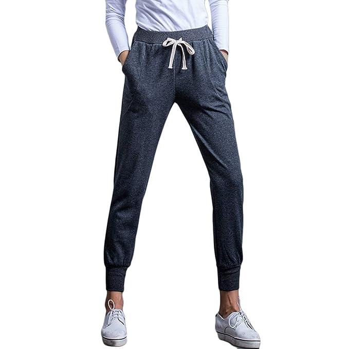 Tookang Mujer Otoño/Invierno Tamaño Grande Pantalones De Chándal ...