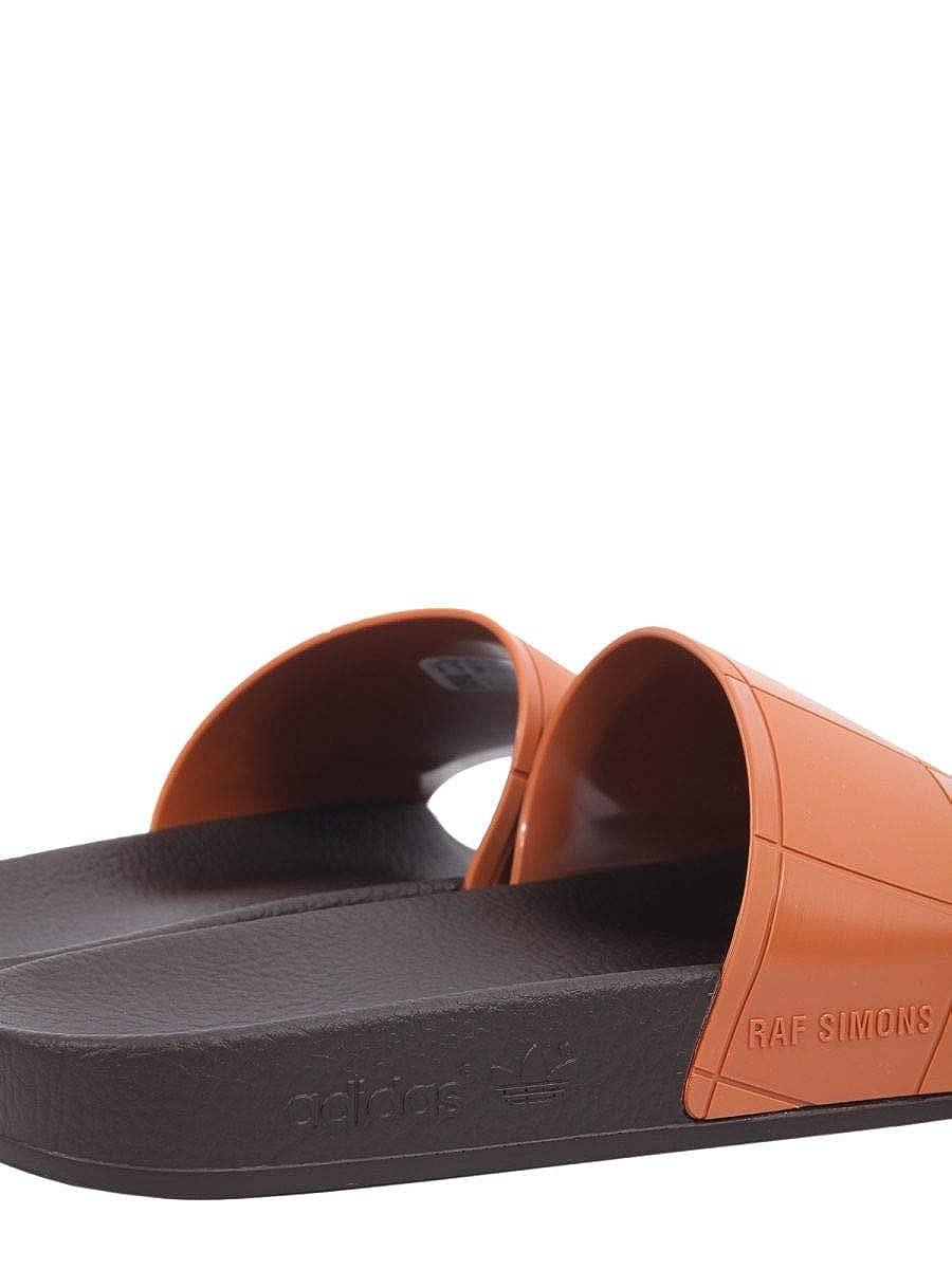 buy online a7a35 78fb6 Adidas by RAF Simons Hombre B22528 Marrón Goma Sandalias Amazon.es  Zapatos y complementos