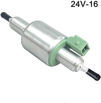 Pompa Olio Speciale a impulsi per riscaldatore da parcheggio Pompa Olio dosatrice 16ml // 28ml Pompa Olio riscaldatore Diesel 12 // 24V Pompa di Riscaldamento per Auto