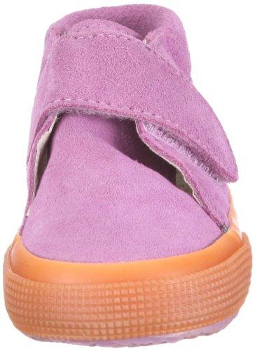 Superga S001NW0 - Zapatos de cordones para niños Morado