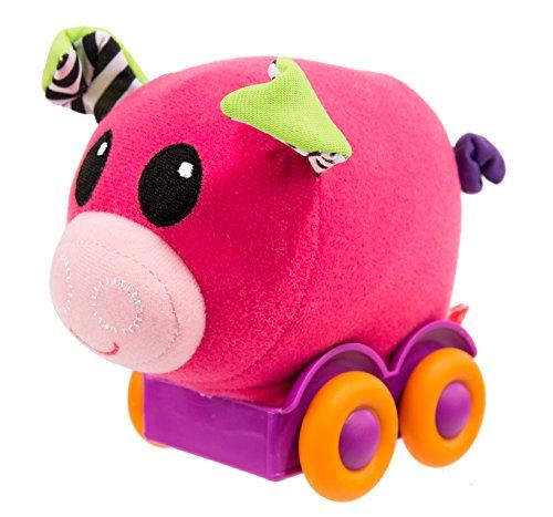 (Sassy Pull N' Roll Toy, Pig )
