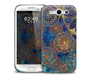 Grunge Pattern Rusty Flowers Samsung Galaxy S3 GS3 protective phone case by supermalls