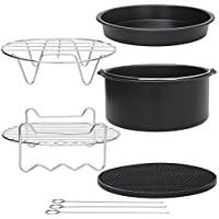 StillCool Air Fryer Accessories Set of 5 Universal Air Fryer Accessories for Phillips Gowise Cozyna etc. Fit all Standard Air Fryer 3.2-5.8QT (5)