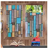 Best Home Fashion Window Films - Soqool Privacy Static Cling Window Film Fashion Decorative Review