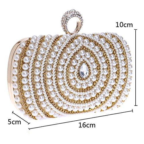 American Bag bag Pearl Black evening Dinner Color Evening Bag Clutch Banquet And Fly Bag European Fashion Gold Female z4H6XnX