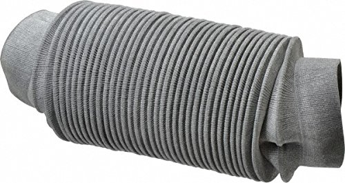 63415806 Made in USA - 24 Inch Long, 0.04 Inch Thick, Nylon Airtight Molded Bellow Thick Nylon Coupler