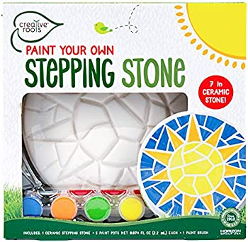 Creative Roots Paint Your Own Mosaic Sun Stepping Stone