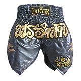 TopTie Muay Thai Shorts, Professional Boxing Trunks - L