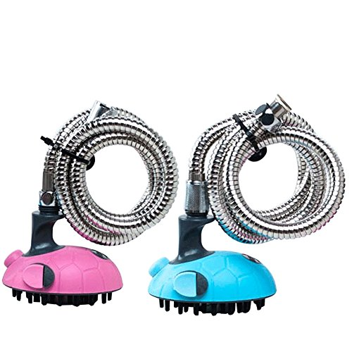 ACTLATI Pet Shower Kits Multifunctional Dogs Cats Bath Massager Brush Grooming Tool With Stainless Steel Hose by ACTLATI (Image #3)