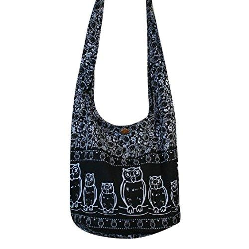 Tonka Cotton Owl Hippie Bag Boho...