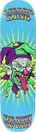Deathwish Liz-King Clowns Deck, 8-Inch