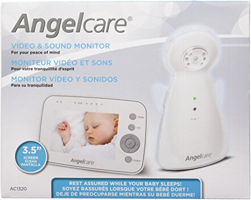 angelcare ac1320 video and sound monitor baby video monitor reviews and rat. Black Bedroom Furniture Sets. Home Design Ideas