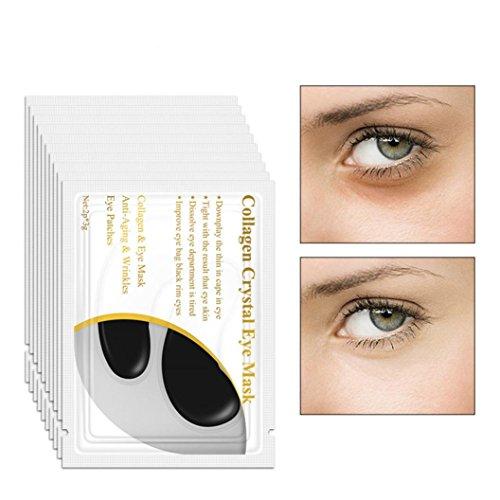 LiPing 10PCS Crystal Gel Patch Anti Mask Eye