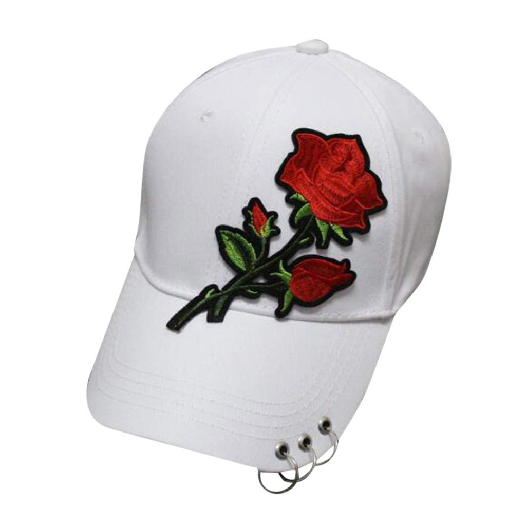 Women Men Cotton Embroidered Unisex Baseball Caps Adjustable