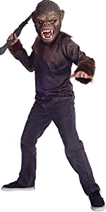 Rubies Dawn of The Planet of The Apes Caesar Costume, Child Medium