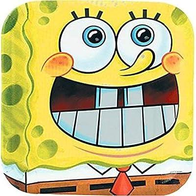 SpongeBob Dinner Pocket Plates (8 count): Toys & Games