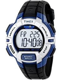 Men's T5K791 Ironman Traditional Sport Watch with Black Resin Band