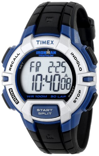 Buy Discount Timex Men's T5K791 Ironman Traditional Sport Watch with Black Resin Band