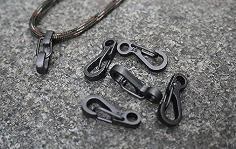 Michael Josh 10pcs Mini SF Karabiner Clip Karabinerhaken Snap Schl/üsselbund Schl/üsselbund Haengende Woelbung