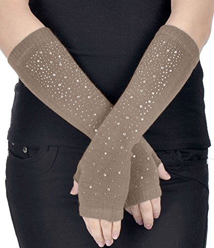 Simplicity Womens Knitted Stretchy Fingerless