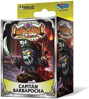 Edge Entertainment Super Dungeon Explore - Capitán Barbapocha, Juego de Mesa EDGND08: Amazon.es: Juguetes y juegos