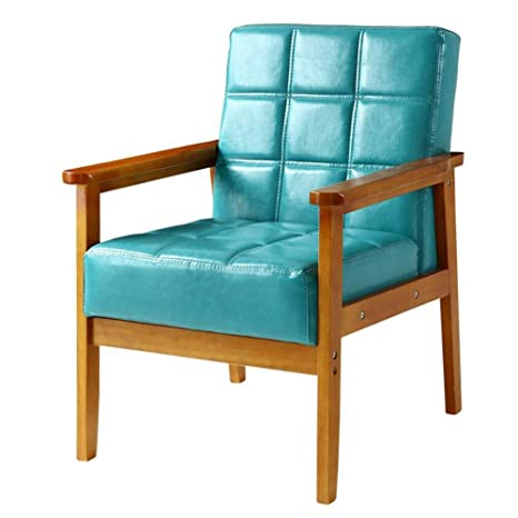 Amazon.com: CJC Chairs Modern Fabric Upholstered Wooden ...