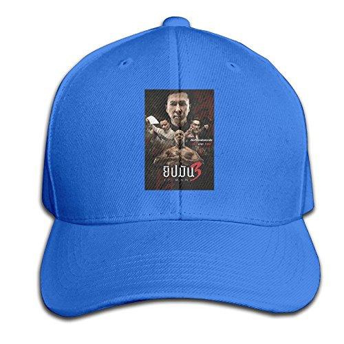 Action Movie Ip Man 3 Poster Men's Cool Baseball Hat