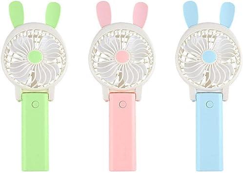 ROIY Mini Ventiladores Enchufes De Viaje Mini Fan USB Silencioso ...