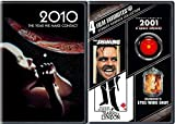 2001 & 2010 Space Odyssey + Stanley Kubrick Collection The Shining / Eyes Wide Shut / Barry Lyndon DVD Set