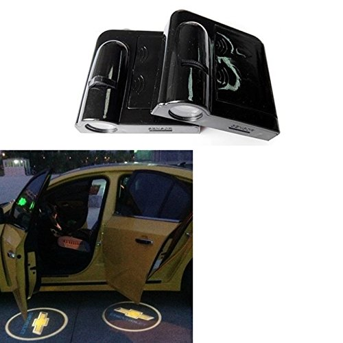 Soondar 2PCS Wireless Car Projection Light LED Door