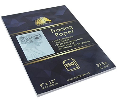 Tracing Paper Pad - 39lb - 9