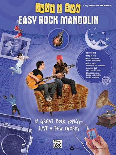Just For Fun: Easy Rock Mandolin Easy Mandolin Tab Edition