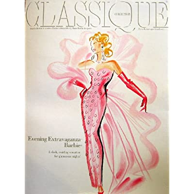 Evening Extravaganza Barbie Doll - Limited Edition Classique Collection 3rd in Series (1993): Toys & Games
