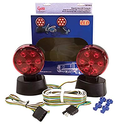 Grote 65720-5 Red Magnetic LED Towing Kit