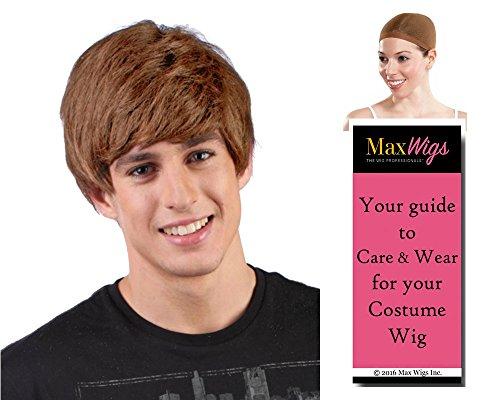 Boy Rocker Bieber Color Brown - Enigma Wigs