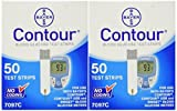 #7: Bayer Contour Blood Glucose, 100 Test Strips Exp Year or Longer