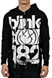 Apparel : Authentic BLINK 182 3 Bars Logo Official Zipup HOODIE S M L XL NEW