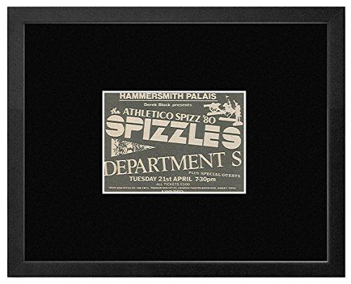 Spizzles Department S - Hammersmith Palais 21st April 1981 Framed Mini Poster - 18x20cm (Sticks Spizzle)