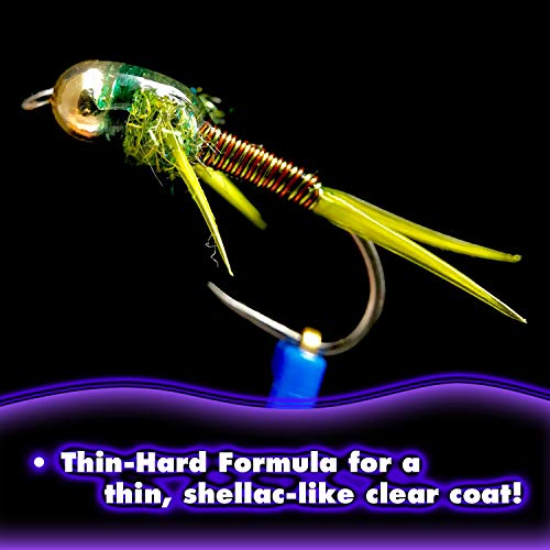 SOLAREZ Fly Tie UV Cure Resin - 3 Pack Starter Kit - Thin