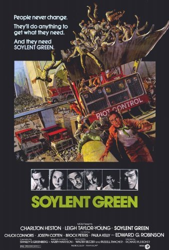 Soylent Green POSTER Movie (27 x 40 Inches - 69cm x 102cm) (Soylent Green Poster)