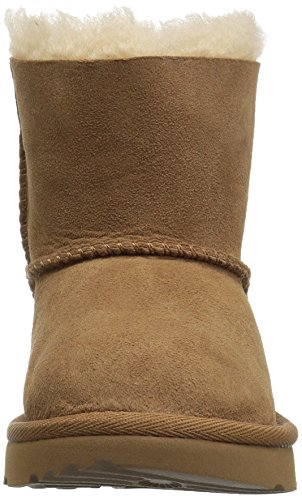 UGG Girls T Mini Bailey Bow II Pull-On Boot, Chestnut, 10 M US Toddler by UGG (Image #4)