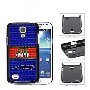 Hashtag The Swamp School Spirit Slogan Chant Samsung i9190 Galaxy S4 Mini Hard Snap on Plastic Cell Phone Cover