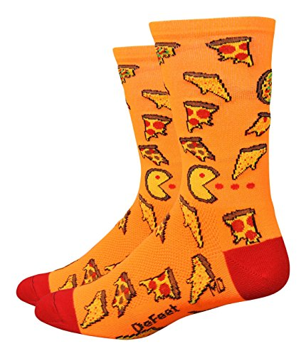 DeFeet Aireator Pizza Party Socks