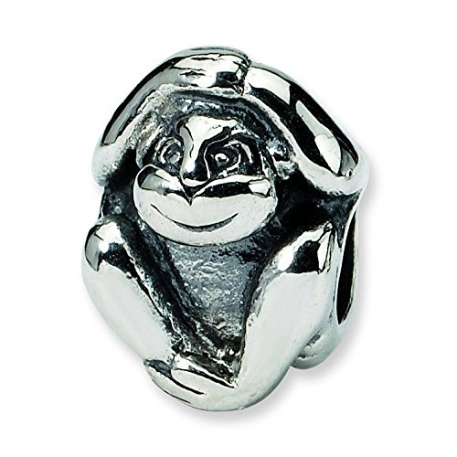 Sterling Silver Reflections Monkey - 6